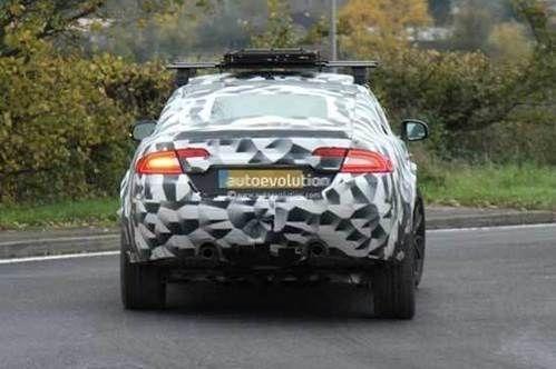或命名QX 捷豹首款SUV量产版细节曝光高清图片