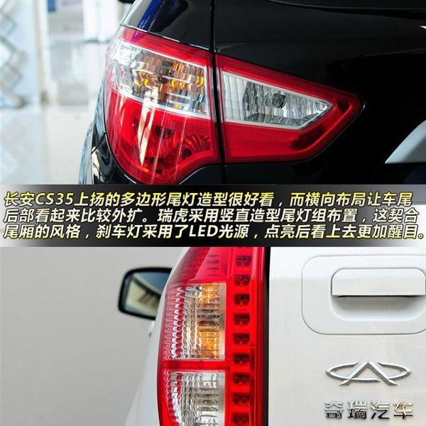 长安CS35对比奇瑞瑞虎 10万元搞定SUV高清图片