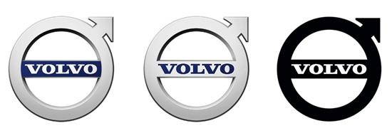 活力与现代感 沃尔沃全新logo高清图片