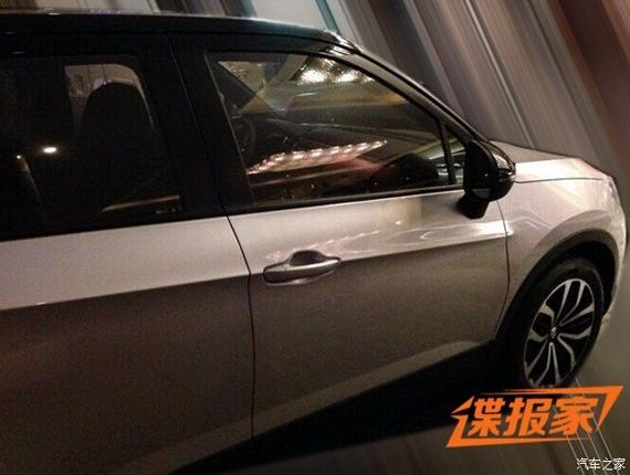 疑似华晨中华V3运动版曝光 年内上市高清图片