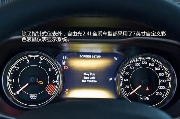 jeep自由光仪表高清图片