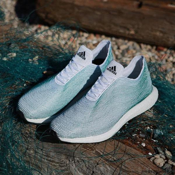 环保行动始于足下 adidas推海洋垃圾制成3d打印跑鞋