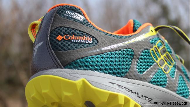仿生设计体现自然之美 columbia钛金系列徒步鞋