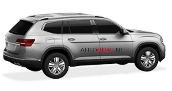 大众新7座中型SUV Teramont 国产造型曝光-Wxjback|Crab And Lion