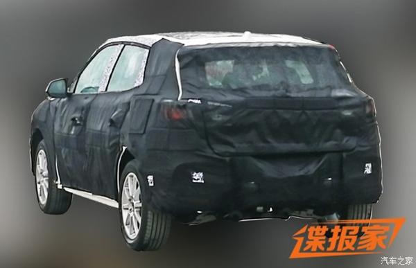 曝荣威全新SUV谍照 进一步丰富产品线