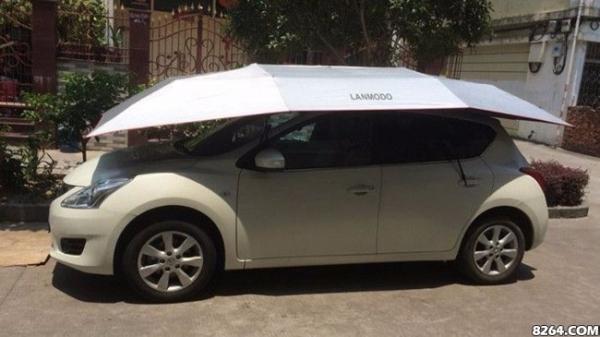 """为爱车遮阳挡雨的蛮豆汽车帐篷,让汽车也有自己的一个""""家"""""""